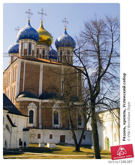 Купить «Рязань, кремль, Успенский собор», фото № 248087, снято 29 марта 2008 г. (c) УНА / Фотобанк Лори