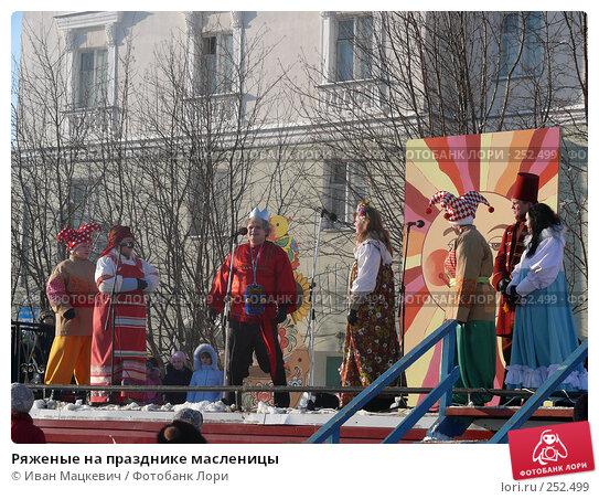 Ряженые на празднике масленицы, эксклюзивное фото № 252499, снято 9 марта 2008 г. (c) Иван Мацкевич / Фотобанк Лори