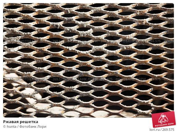Ржавая решетка, фото № 269575, снято 23 марта 2008 г. (c) hunta / Фотобанк Лори