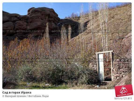 Сад в горах Ирана, фото № 21811, снято 21 ноября 2006 г. (c) Валерий Шанин / Фотобанк Лори