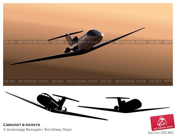Самолет в полете, иллюстрация № 225963 (c) Александр Володин / Фотобанк Лори