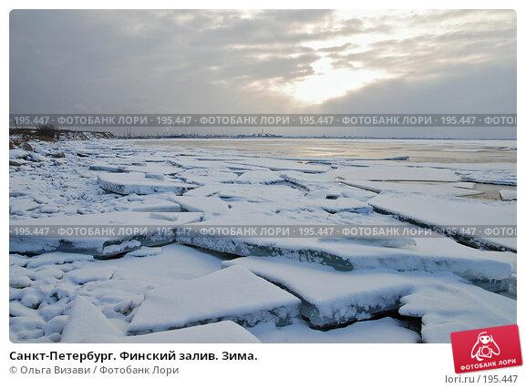 Санкт-Петербург. Финский залив. Зима., эксклюзивное фото № 195447, снято 23 января 2008 г. (c) Ольга Визави / Фотобанк Лори