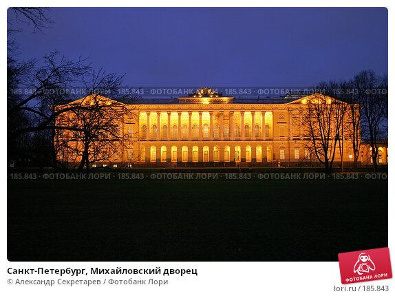 Санкт-Петербург, Михайловский дворец, фото № 185843, снято 16 января 2008 г. (c) Александр Секретарев / Фотобанк Лори