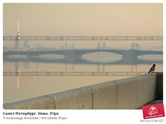 Купить «Санкт-Петербург. Нева. Утро», эксклюзивное фото № 118127, снято 23 марта 2007 г. (c) Александр Алексеев / Фотобанк Лори
