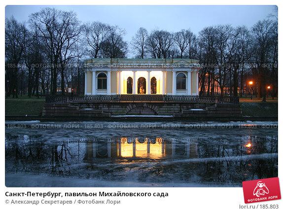 Санкт-Петербург, павильон Михайловского сада, фото № 185803, снято 16 января 2008 г. (c) Александр Секретарев / Фотобанк Лори