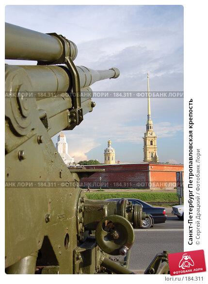 Санкт-Петербург Петропавловская крепость, фото № 184311, снято 2 июля 2007 г. (c) Сергей Драцкий / Фотобанк Лори