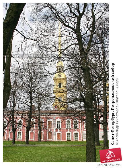 Санкт-Петербург. Петропавловский собор, фото № 232795, снято 10 мая 2005 г. (c) Александр Секретарев / Фотобанк Лори