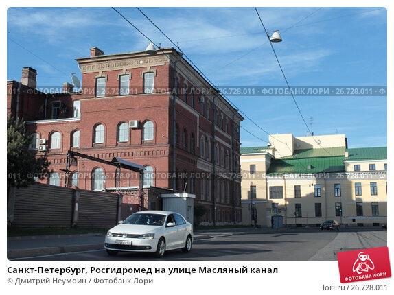 Санкт-Петербург, Росгидромед на улице Масляный канал, эксклюзивное фото № 26728011, снято 22 мая 2017 г. (c) Дмитрий Неумоин / Фотобанк Лори