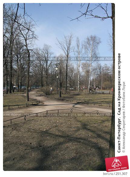 Санкт-Петербург.  Сад на Кронверкском острове, фото № 251307, снято 5 апреля 2008 г. (c) Александр Секретарев / Фотобанк Лори