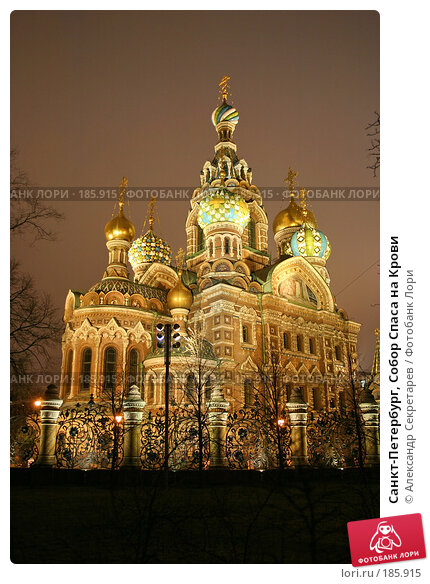 Санкт-Петербург, Собор Спаса на Крови, фото № 185915, снято 16 января 2008 г. (c) Александр Секретарев / Фотобанк Лори