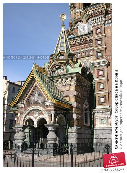 Санкт-Петербург. Собор Спаса на Крови, фото № 233243, снято 2 апреля 2005 г. (c) Александр Секретарев / Фотобанк Лори