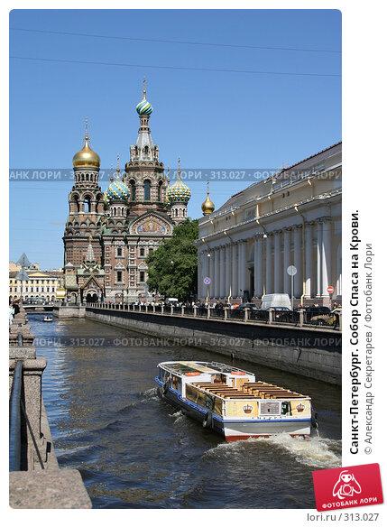 Санкт-Петербург. Собор Спаса на Крови., фото № 313027, снято 4 июня 2008 г. (c) Александр Секретарев / Фотобанк Лори