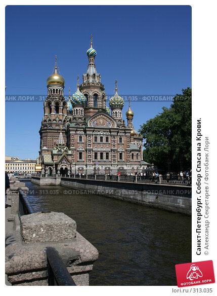 Санкт-Петербург. Собор Спаса на Крови., фото № 313035, снято 4 июня 2008 г. (c) Александр Секретарев / Фотобанк Лори