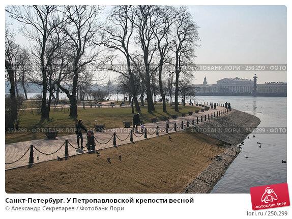 Купить «Санкт-Петербург. У Петропавловской крепости весной», фото № 250299, снято 5 апреля 2008 г. (c) Александр Секретарев / Фотобанк Лори