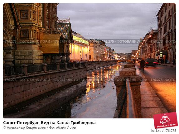 Санкт-Петербург, Вид на Канал Грибоедова, фото № 176275, снято 14 января 2008 г. (c) Александр Секретарев / Фотобанк Лори