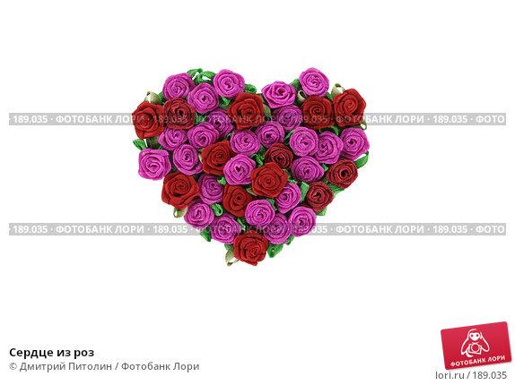 Сердце из роз, фото № 189035, снято 28 января 2008 г. (c) Дмитрий Питолин / Фотобанк Лори