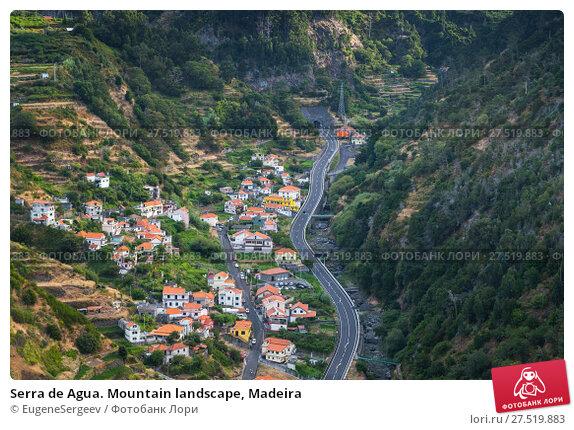 Serra de Agua. Mountain landscape, Madeira (2017 год). Стоковое фото, фотограф EugeneSergeev / Фотобанк Лори