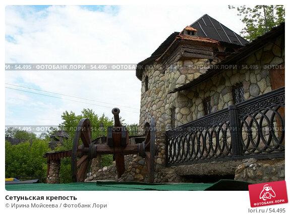 Сетуньская крепость, эксклюзивное фото № 54495, снято 10 июня 2007 г. (c) Ирина Мойсеева / Фотобанк Лори