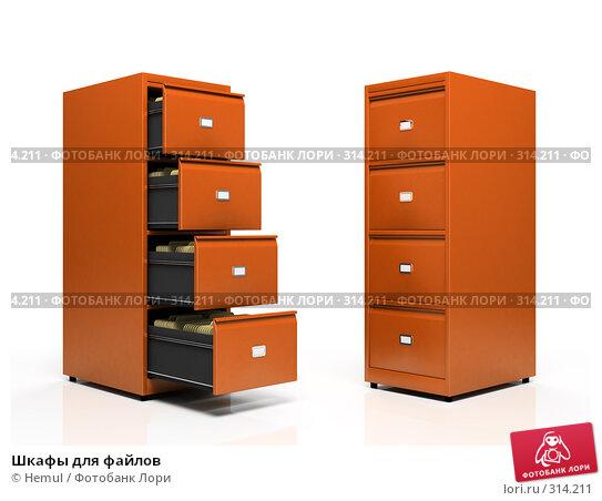 Шкафы для файлов, иллюстрация № 314211 (c) Hemul / Фотобанк Лори