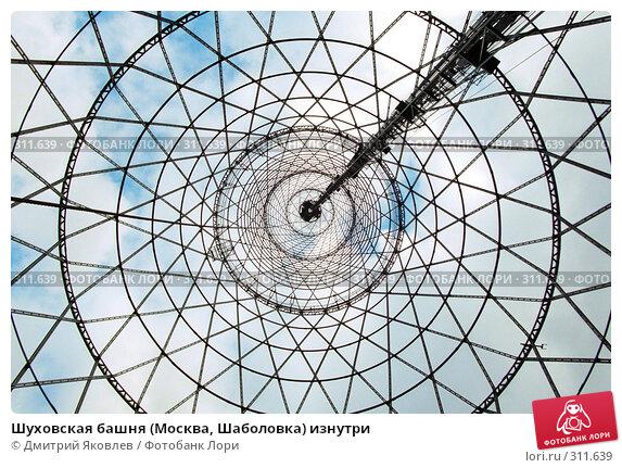Шуховская башня (Москва, Шаболовка) изнутри, фото № 311639, снято 21 декабря 2016 г. (c) Дмитрий Яковлев / Фотобанк Лори