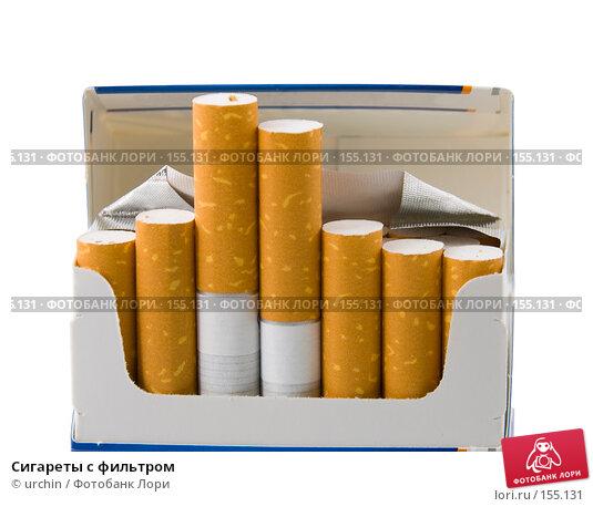 Купить «Сигареты с фильтром», фото № 155131, снято 17 декабря 2007 г. (c) urchin / Фотобанк Лори