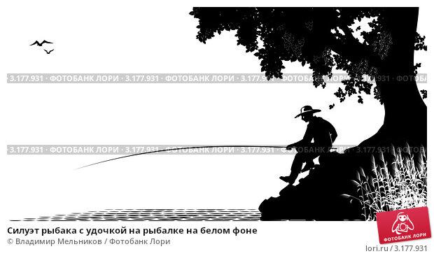 картинки трафареты рыбалка