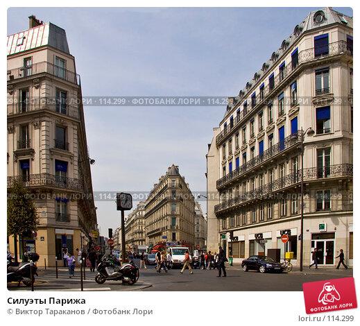 Купить «Силуэты Парижа», эксклюзивное фото № 114299, снято 27 апреля 2007 г. (c) Виктор Тараканов / Фотобанк Лори