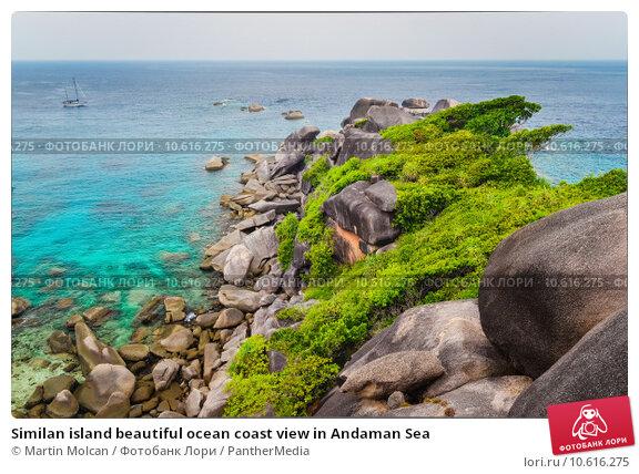 Similan island beautiful ocean coast view in Andaman Sea. Стоковое фото, фотограф Martin Molcan / PantherMedia / Фотобанк Лори
