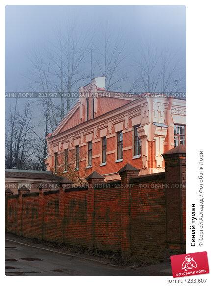 Синий туман, фото № 233607, снято 16 марта 2008 г. (c) Сергей Халадад / Фотобанк Лори