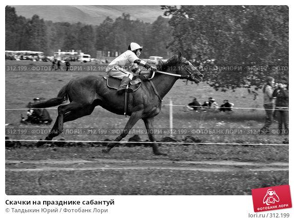 Купить «Скачки на празднике сабантуй», фото № 312199, снято 31 мая 2008 г. (c) Талдыкин Юрий / Фотобанк Лори