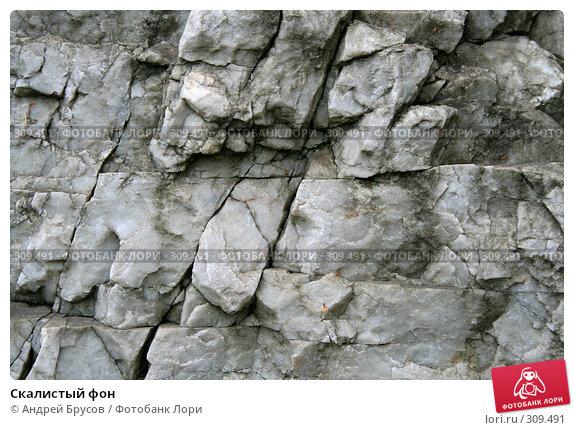 Скалистый фон, фото № 309491, снято 27 мая 2008 г. (c) Андрей Брусов / Фотобанк Лори