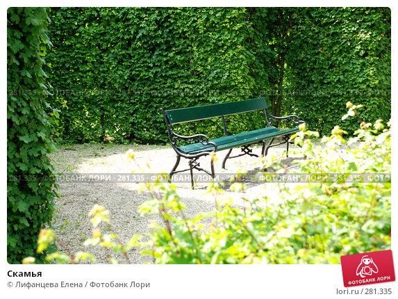 Скамья, фото № 281335, снято 5 мая 2008 г. (c) Лифанцева Елена / Фотобанк Лори