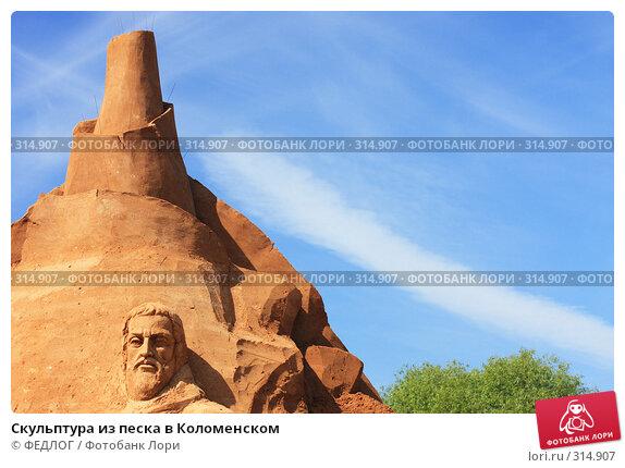Скульптура из песка в Коломенском, фото № 314907, снято 8 июня 2008 г. (c) ФЕДЛОГ.РФ / Фотобанк Лори
