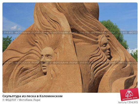 Купить «Скульптура из песка в Коломенском», фото № 314915, снято 8 июня 2008 г. (c) ФЕДЛОГ.РФ / Фотобанк Лори