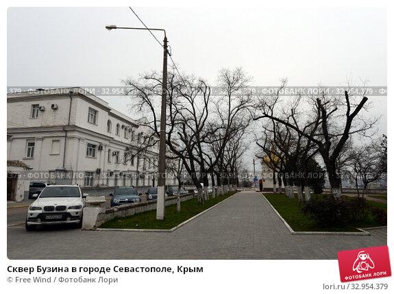 Сквер Бузина в городе Севастополе, Крым (2015 год). Редакционное фото, фотограф Free Wind / Фотобанк Лори