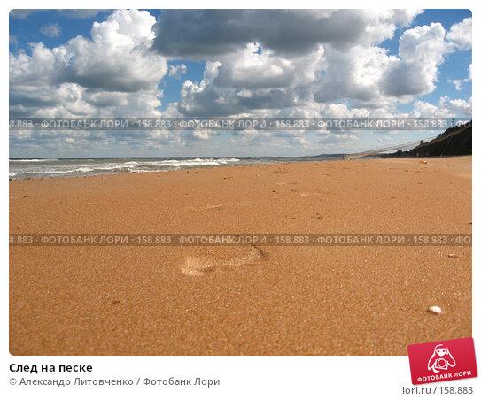След на песке, фото № 158883, снято 14 сентября 2007 г. (c) Александр Литовченко / Фотобанк Лори
