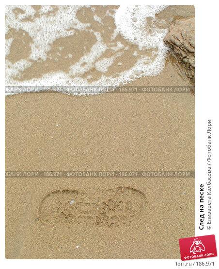 След на песке, фото № 186971, снято 14 июня 2006 г. (c) Елизавета Калбасова / Фотобанк Лори