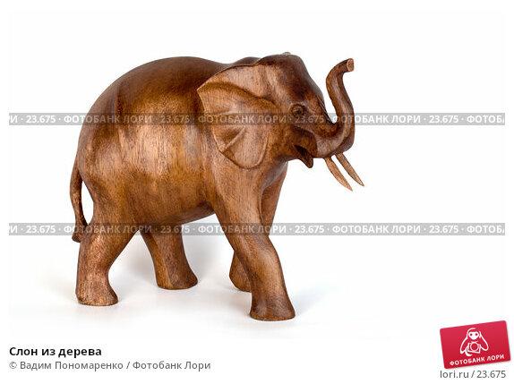 Слон из дерева, фото № 23675, снято 11 марта 2007 г. (c) Вадим Пономаренко / Фотобанк Лори