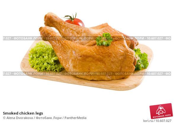 Smoked chicken legs. Стоковое фото, фотограф Alena Dvorakova / PantherMedia / Фотобанк Лори