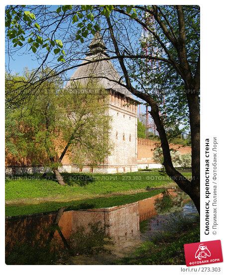 Смоленск, крепостная стена, фото № 273303, снято 5 мая 2008 г. (c) Примак Полина / Фотобанк Лори