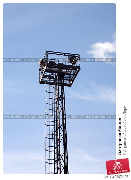 Купить «Смотровая башня», фото № 207107, снято 31 марта 2007 г. (c) Argument / Фотобанк Лори