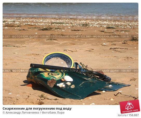 Снаряжение для погружению под воду, фото № 158887, снято 15 сентября 2007 г. (c) Александр Литовченко / Фотобанк Лори