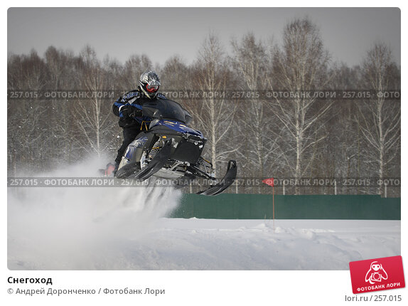 Снегоход, фото № 257015, снято 24 октября 2016 г. (c) Андрей Доронченко / Фотобанк Лори