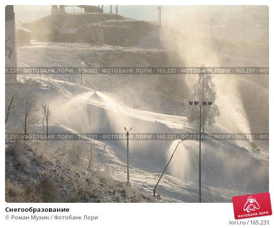 Снегообразование, фото № 165231, снято 6 ноября 2006 г. (c) Роман Мухин / Фотобанк Лори