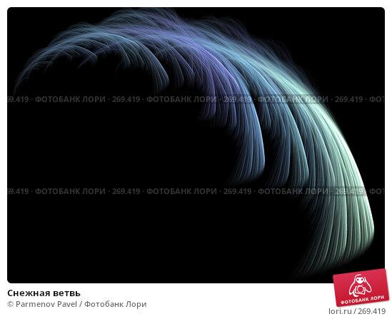 Снежная ветвь, иллюстрация № 269419 (c) Parmenov Pavel / Фотобанк Лори