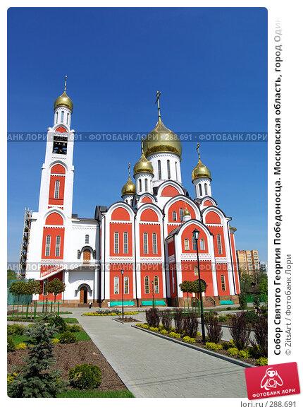 Собор Святого Георгия Победоносца. Московская область, город Одинцово, фото № 288691, снято 29 апреля 2008 г. (c) ZitsArt / Фотобанк Лори