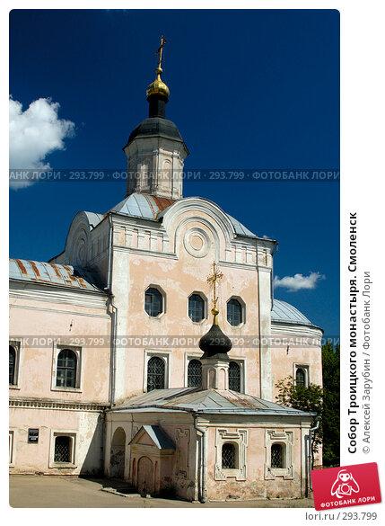 Купить «Собор Троицкого монастыря. Смоленск», фото № 293799, снято 10 июня 2007 г. (c) Алексей Зарубин / Фотобанк Лори