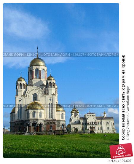 Собор во имя всех святых (Храм на Крови), фото № 129607, снято 7 июня 2005 г. (c) Serg Zastavkin / Фотобанк Лори
