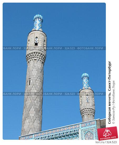 Соборная мечеть. Санкт-Петербург, фото № 324523, снято 12 июня 2008 г. (c) Заноза-Ру / Фотобанк Лори