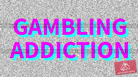 Social issue: Gambling Addiction. Noise on old tv screen, looping VHS interference. Vintage animated background. 4K video footage. Стоковая анимация, видеограф Dmitry Domashenko / Фотобанк Лори